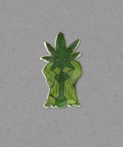 Shop Weed Yoda Enamel Pins