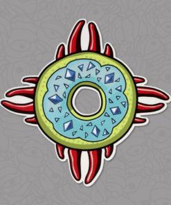 Shop Meth Donut Sticker