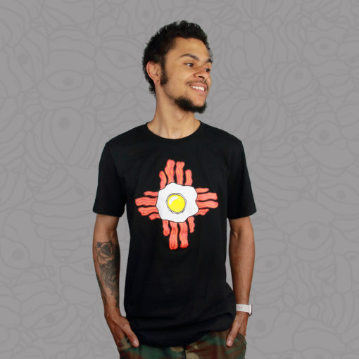 Black Breakfast Zia Unisex Tee