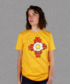 Gold Breakfast Zia Unisex Tee