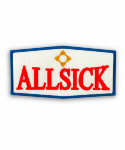 Metal the Brand Allsick Embroidered Patch