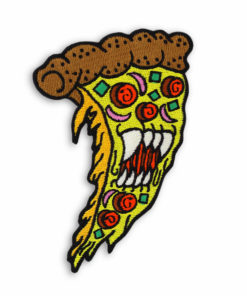 Metal the Brand Vampire Pizza Embroidered Patch