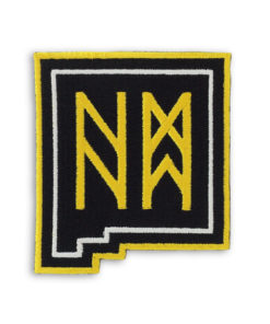 Metal the Brand Cryptic New Mexico Embroidered Patch