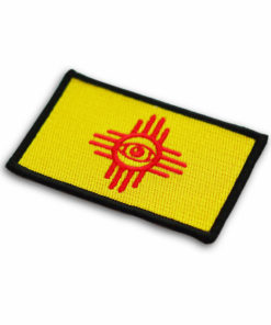 Metal the Brand Eye Zia Flag Embroidered Patch