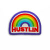 Metal the Brand Hustlin Embroidered Patch