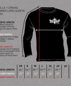 Shop Unisex Longsleeve 3501