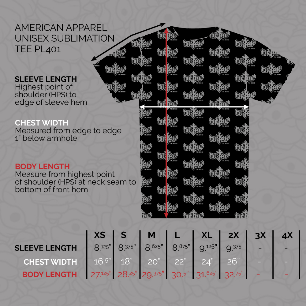 American Apparel Unisex Sublimation Tee